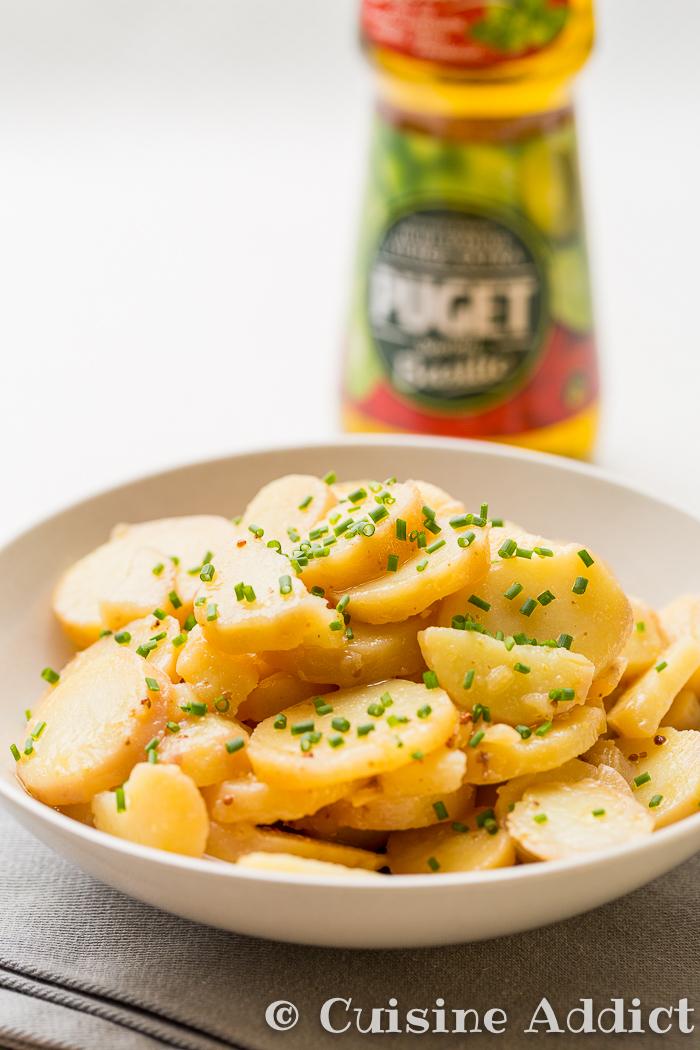 Grumbeeresalat salade de pomme de terre alsacienne for Cuisine addict