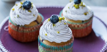 Cupcakes Coco Myrtille