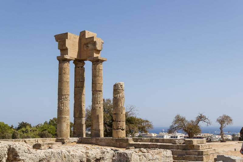 Rhodes - Acropole