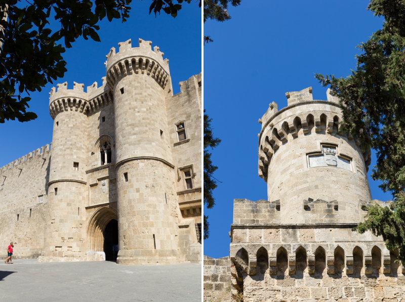 Rhodes - Ville fortifiée