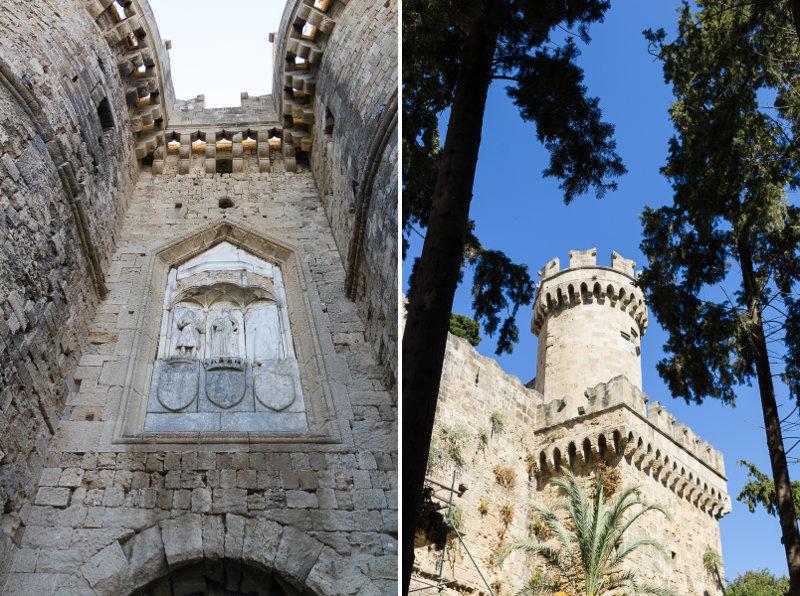 3b - Rhodes ville fortifiée