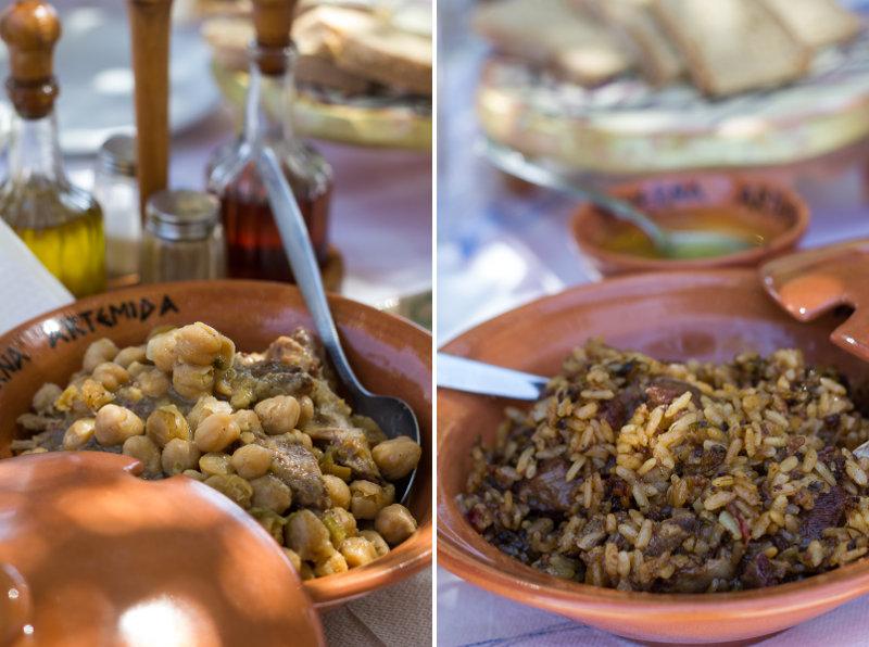 Rhodes - Psinthos - Taverna Artemidia