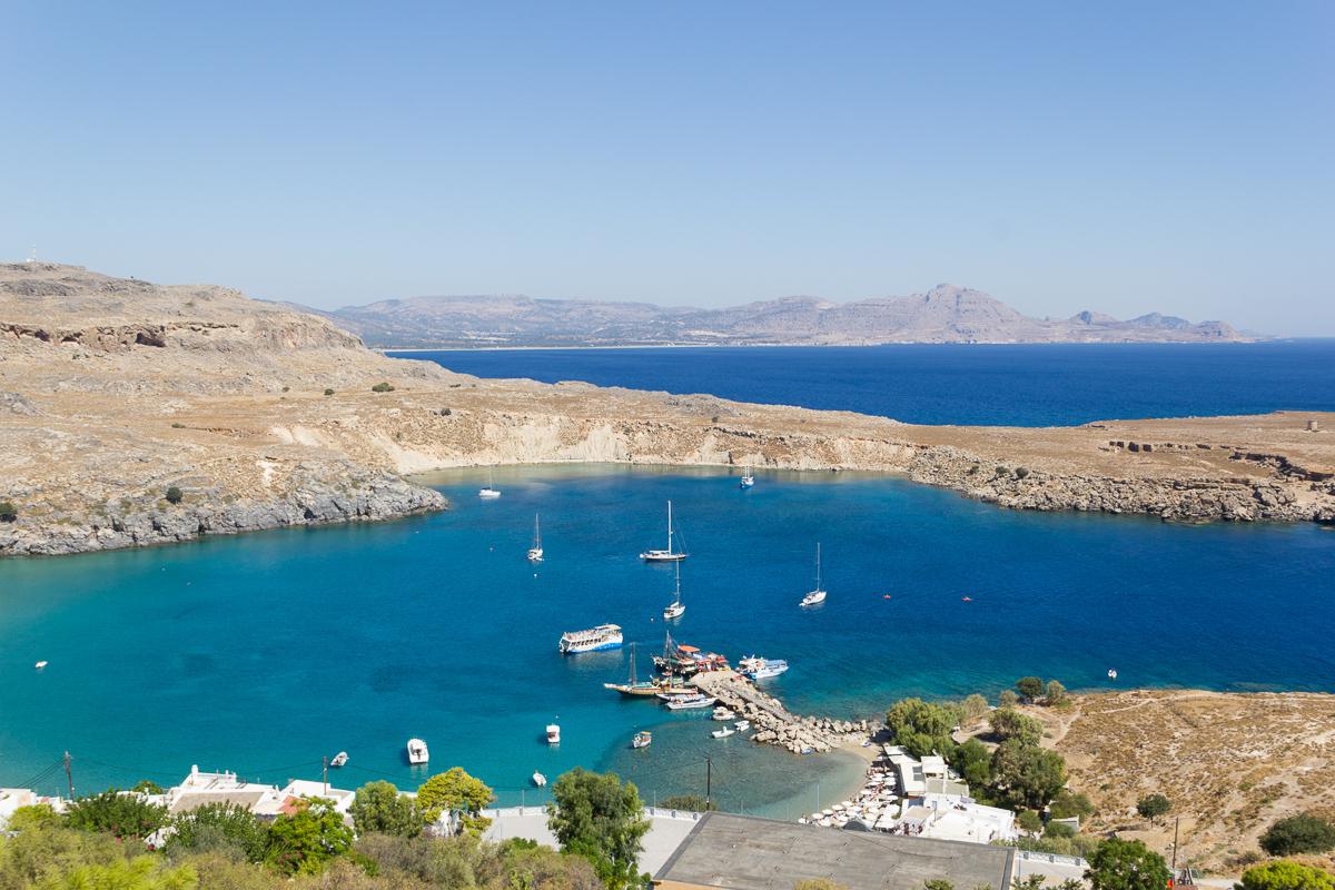 Rhodes - Lindos - Port