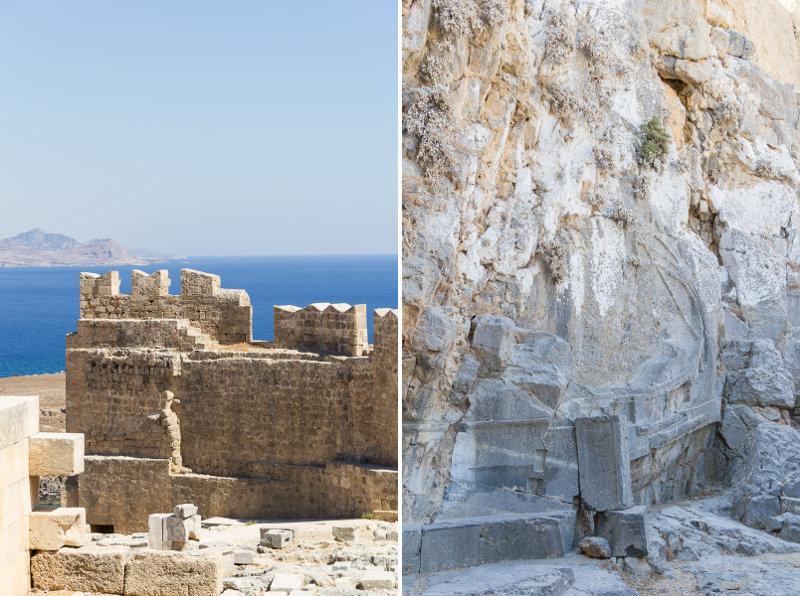 Rhodes - Lindos - Acropole