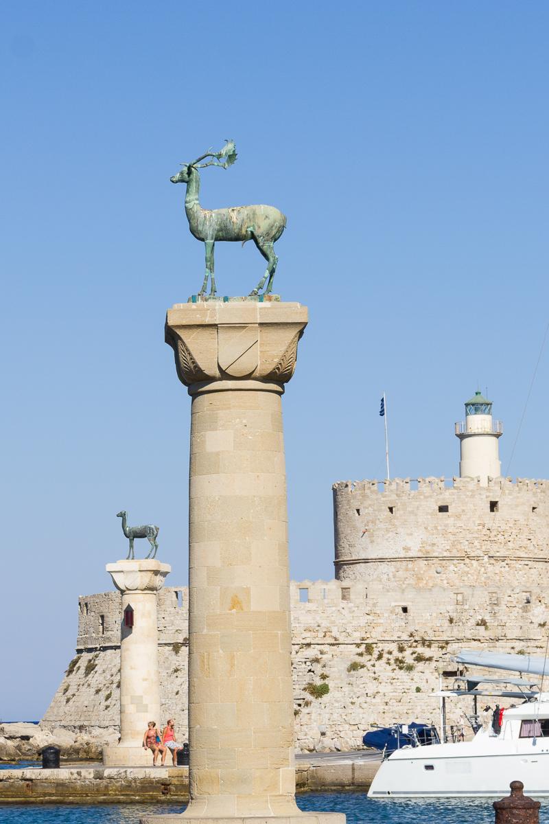Rhodes - Site du Colosse