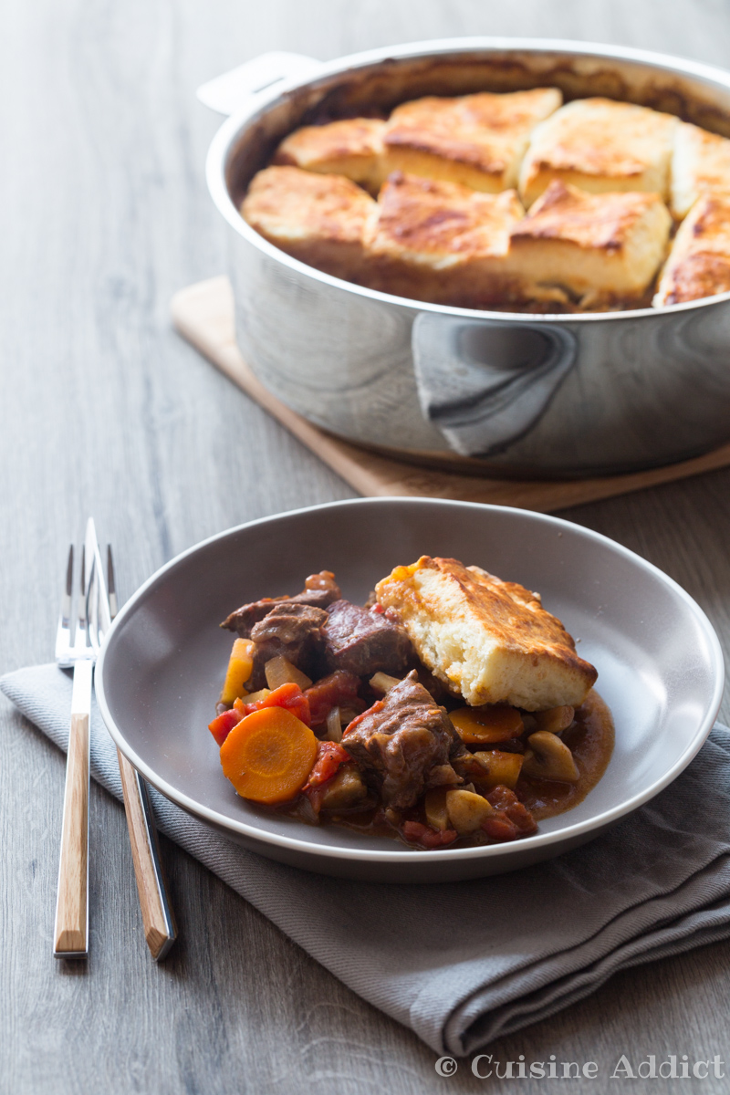Irish beef stew with cheese biscuits cuisine addict for Cuisine addict
