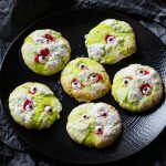 Scary Coconut & Lime Cookies