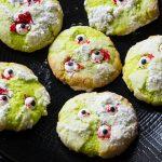 Cookies effrayants Noix de coco et Citron Vert