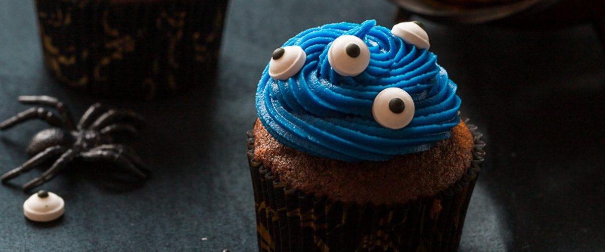 Cupcake Au Chocolat Et Aux Yeux Recette Pour Halloween