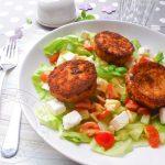 Salade de Chèvre chaud au Rocamadour