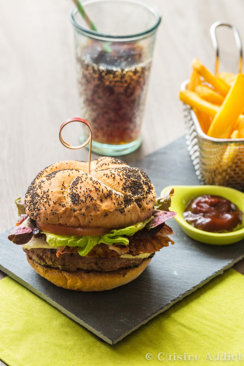 Burger au veau et ketchup maison-4387