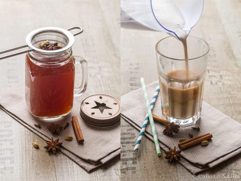 Préparation pour chai Tea Latte