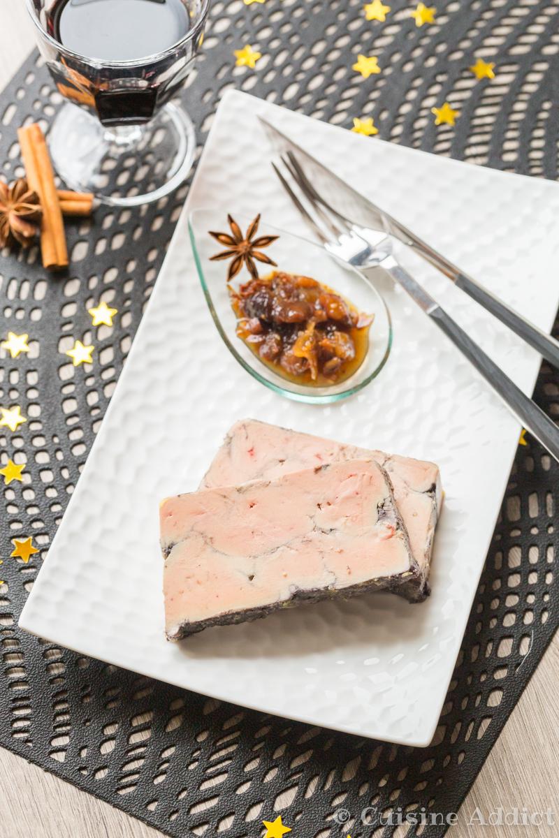Foie gras poché au Vin rouge et Epices - ©Sandra Pascual-4618