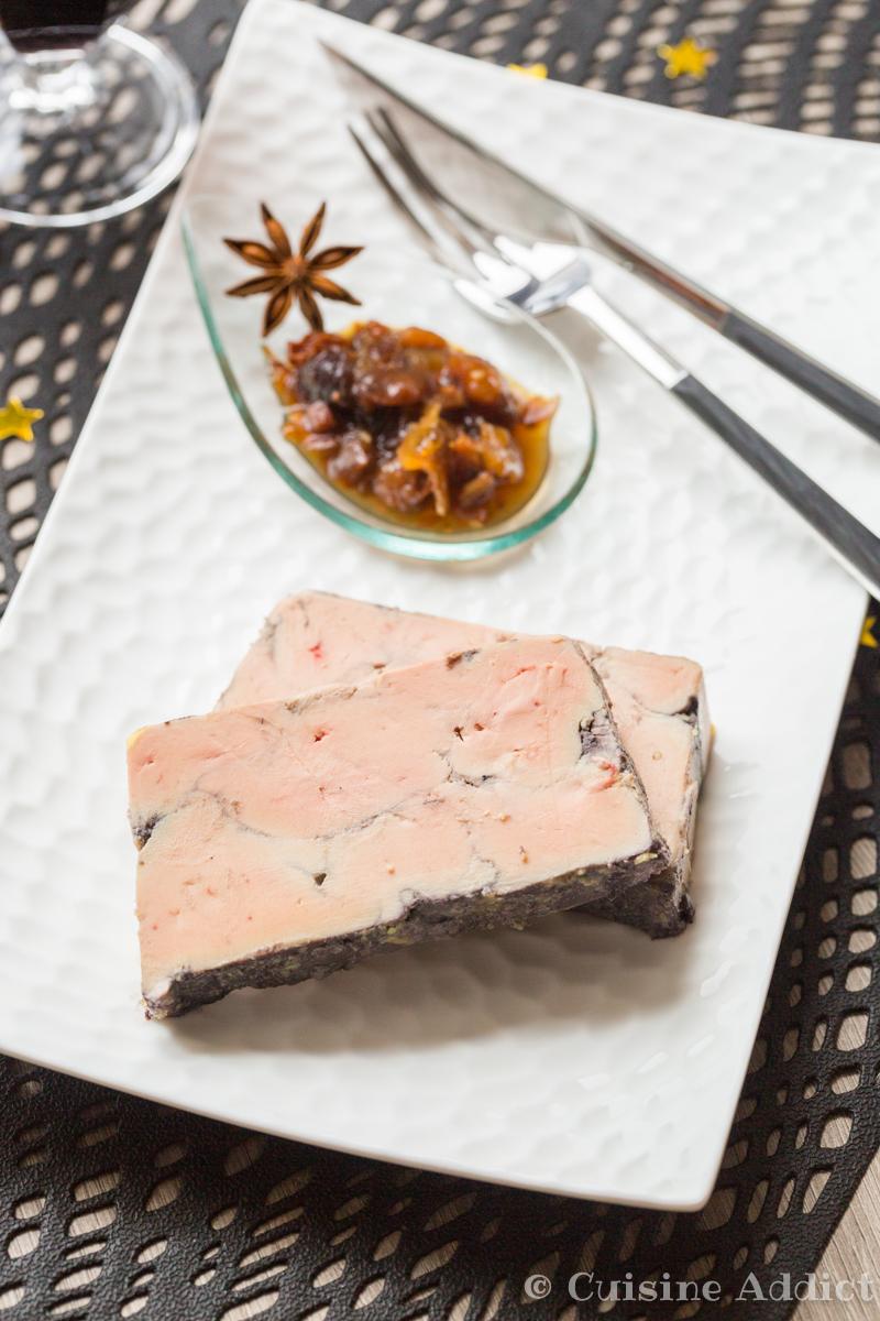 Foie gras poché au Vin rouge et Epices - ©Sandra Pascual-4619