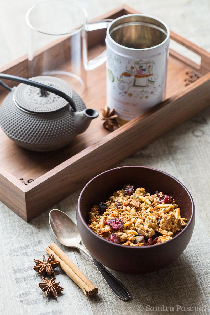 Granola au thé chaï impérial