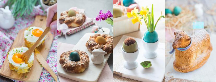 Mes inspirations pour des fêtes de Pâques gourmandes et colorées!