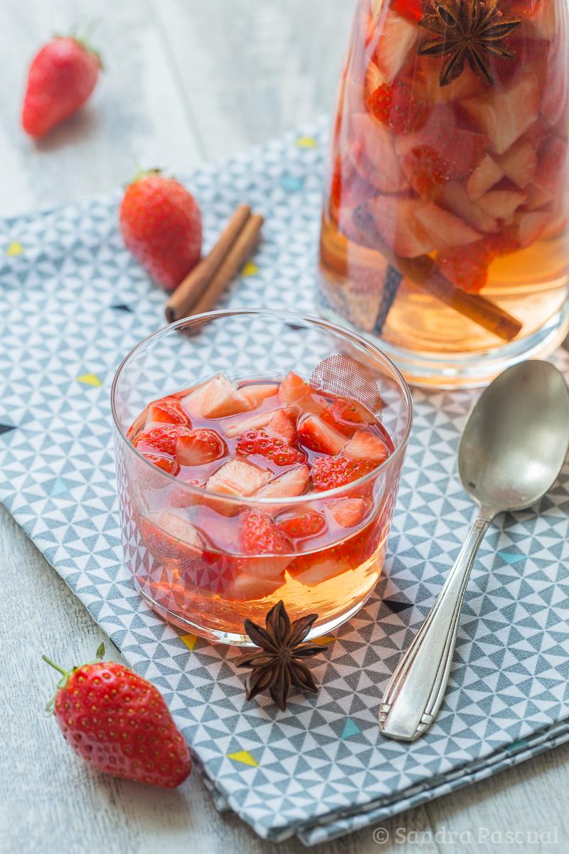 Fraises marinées au Rosé ©Sandra Pascual-5630