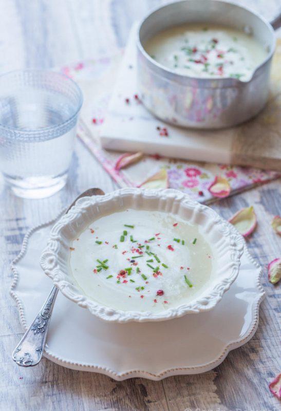 Crème d'asperges blanches