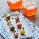 Italian Appetizer: Mozzarella Tomatoes & Spritz