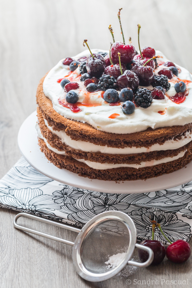 Naked Black Forest - Cake Recipe-7218