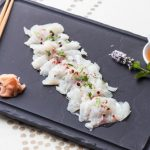 Sashimi de Daurade ♦ Sauce Thaï