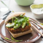 Veggie Quinoa & Beans Burger