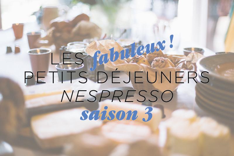 Mon Fabuleux petit Déjeuner Nespresso... Pourquoi pas vous?