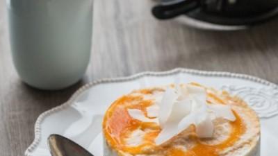 """Cheesecake"" Cru et Vegan à la Noix de Coco"