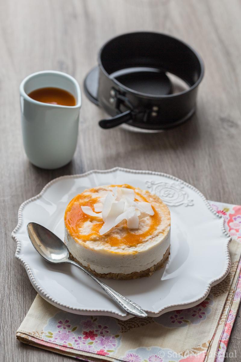 Cheesecake cru et vegan la noix de coco cuisine addict for Cuisine addict