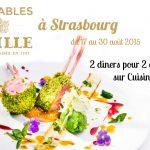 Les Tables Mailles {2 x 2 menus à la Brasserie Les Haras à gagner}
