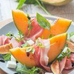 Salade estivale au Melon, Jambon & Figues fraîches