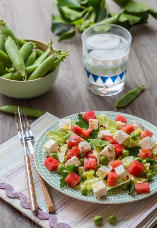 Salade Pastèque & Fromage