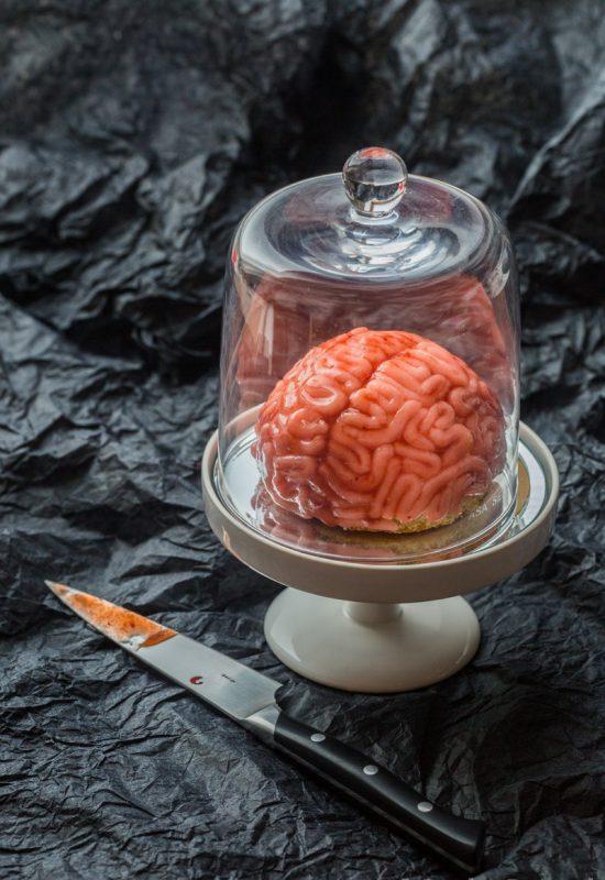 Cervelle de zombie pour Halloween