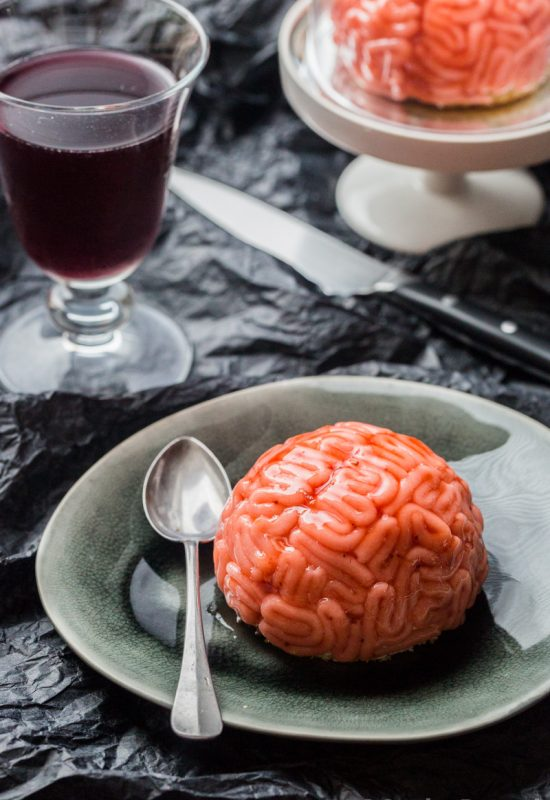 Cervelle vanille fraise