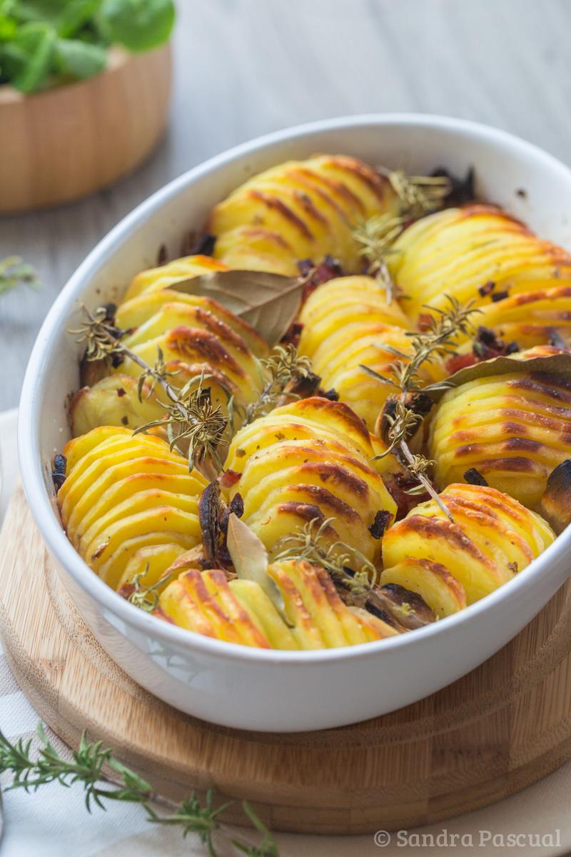 Pommes de terre rôties croustillantes
