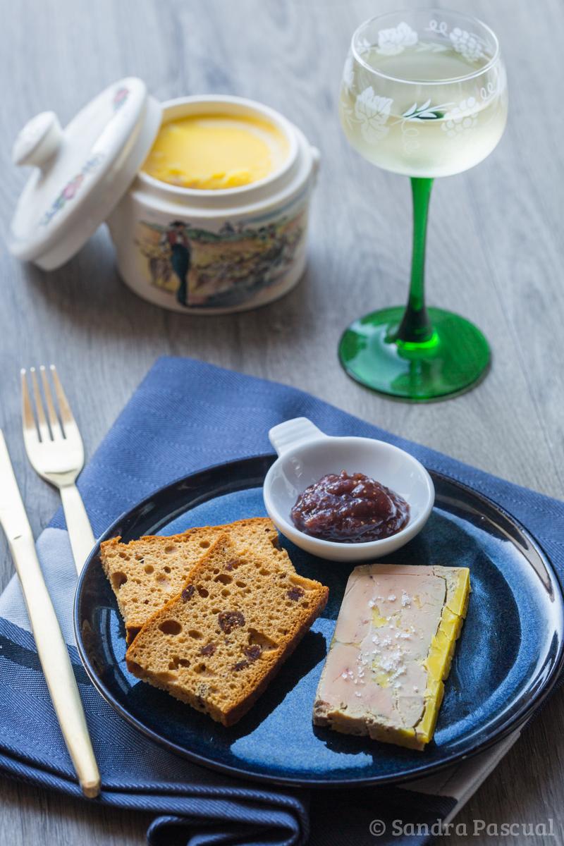 Foie gras alsacien aux épices