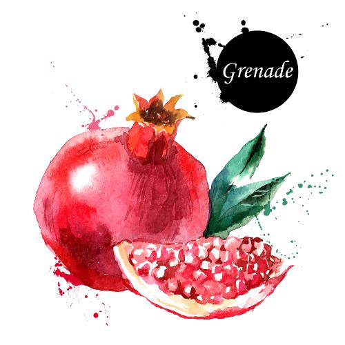 Id es recettes avec les fruits l gumes d 39 octobre cuisine addict - Grenade fruit comment manger ...