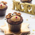 Cupcakes Rennes de Noël