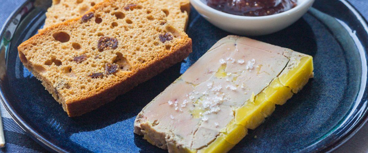 Terrine de foie gras à l'alsacienne