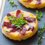 Tarte tatin aux Pommes & Magret de</br>Canard