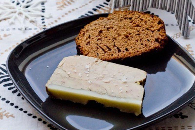 Terrine de foie gras au whisky et cacao