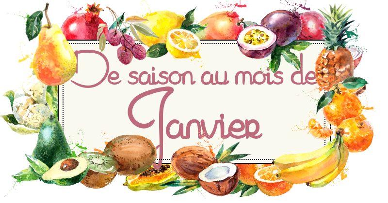 Fruits et légumes de saison en janvier