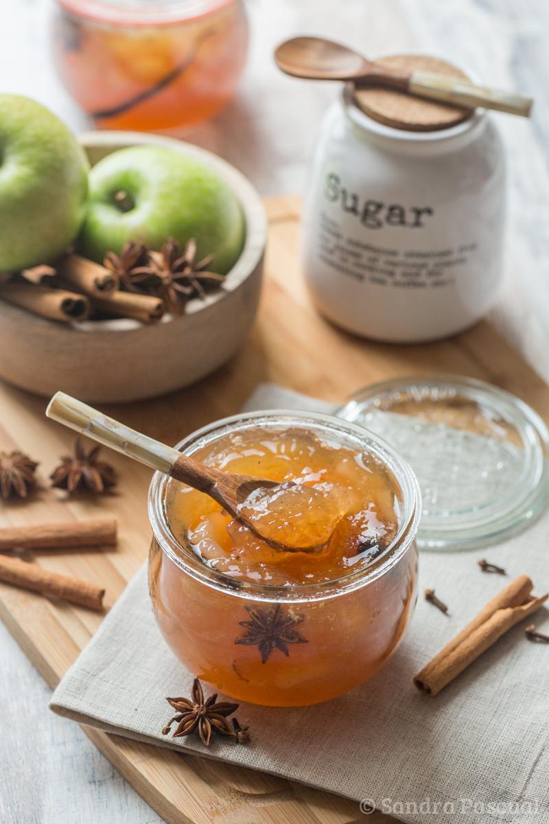 Confiture de pommes aux epices cuisine addict for Cuisine addict