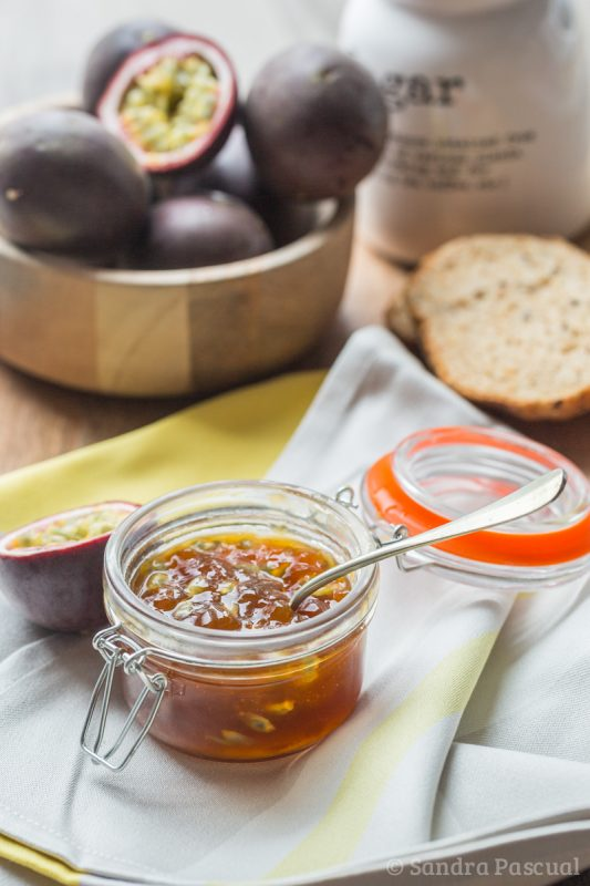 Confiture aux Fruits de la Passion