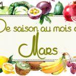 Idées-recettes avec les Fruits & Légumes de Mars