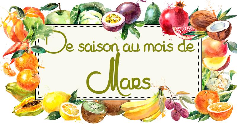 Idées-recettes avec les Fruits &#038;</br>Légumes de Mars