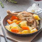 Duck Pot-au-Feu {Duck & Vegetables stew}