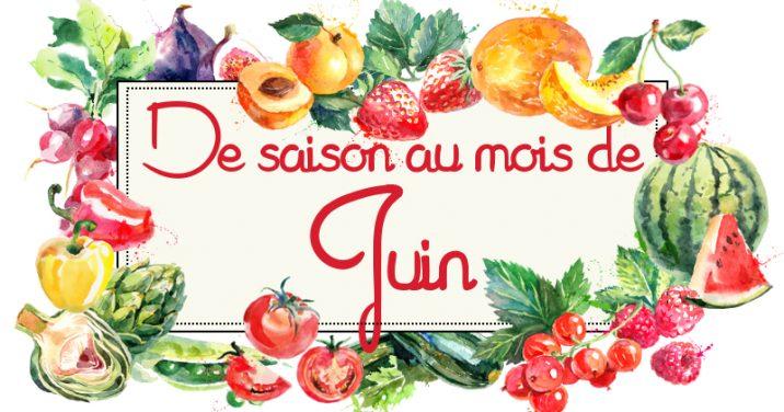 Idées Recettes Avec Les Fruits Légumes De Juin Cuisine Addict