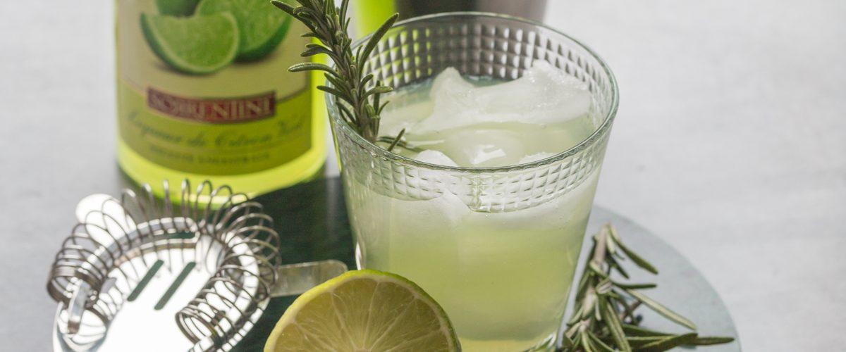Cocktail Limonverde Gin et Romarin