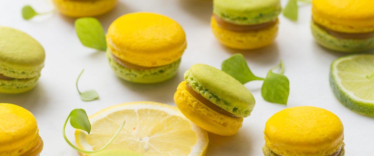 Macarons au Limoncello et Limonverde